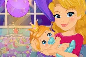 《公主宝贝房布置》游戏画面1