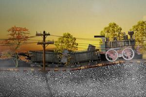 《老火车运货》游戏画面1