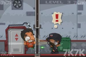 《大盗越狱》游戏画面2