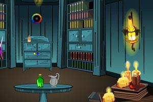 《魔法书房逃离》游戏画面1