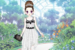 《森迪公主的花语长裙》游戏画面1