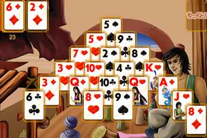 《阿拉丁纸牌》游戏画面1
