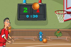 《定点投篮训练》游戏画面1