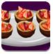 烹饪水果松饼