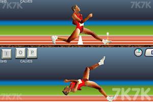 《QWOP百米赛跑双人版》截图5