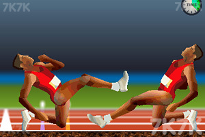 《QWOP百米赛跑双人版》截图3