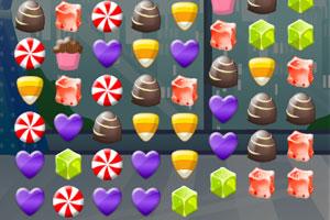 《糖果乐园对对碰》游戏画面1