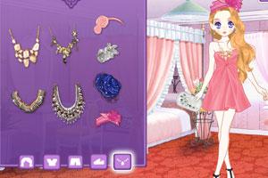 《森迪公主的名媛装扮》游戏画面1
