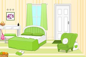 《逃离鲜绿色卧室》游戏画面1