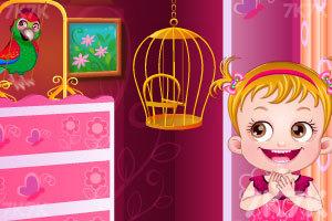 《可爱宝贝照顾鹦鹉》游戏画面2