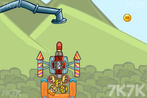 《空运笑脸球》游戏画面4