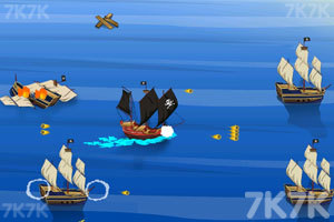 《海贼船突袭》游戏画面2