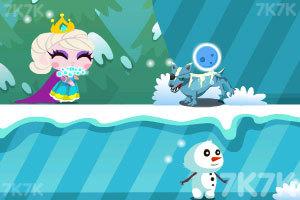 《冰雪女王救公主》游戏画面3