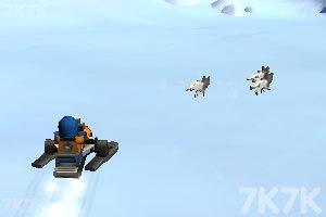 《乐高城市冰山之旅》游戏画面1