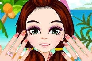 《玛丽做美甲》游戏画面1