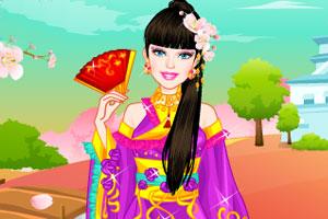 《日本公主游园》游戏画面1