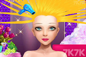 《新娘发型屋》游戏画面2