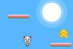 《跳跃的小猫》游戏画面1