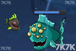 《深海刺头鱼2无敌版》游戏画面2