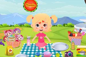 《宝贝儿去野餐》游戏画面1
