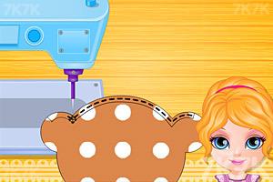 《手工缝制布娃娃》游戏画面3