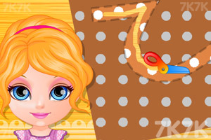 《手工缝制布娃娃》游戏画面2