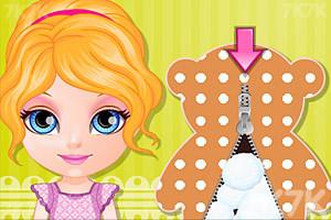 《手工缝制布娃娃》游戏画面1