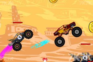 《狂野四驱�@已�受了重��车竞赛》游戏画面2