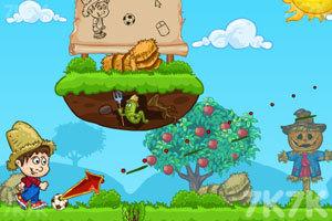 《快乐的农场足球》游戏画面2