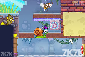 《蜗牛寻新房子7选关版》游戏画面5