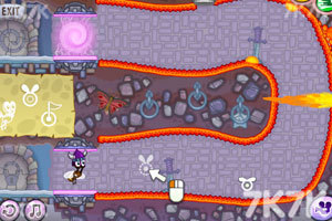 《蜗牛寻新房子7选关版》游戏画面3