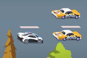 《警车公路追击》游戏画面1