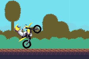 《摩托车特技》游戏画面1