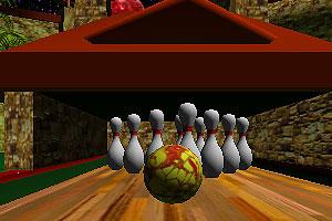 《3D梦幻保龄球》游戏画面1