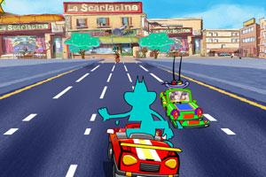 《肥猫逆行狂飙》游戏画面1