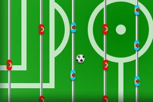 《桌上足球赛》游戏画面1