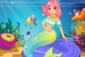 《美人鱼爱换装》游戏画面1