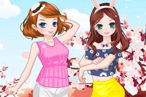 《花儿女孩2》游戏画面1