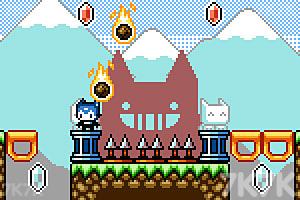 《猫兄妹闯天关》游戏画面2