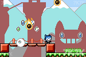 《猫兄妹闯天关》游戏画面3