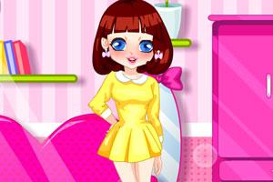 《萌萌的小女孩》游戏画面1