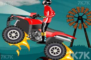 《山丘越野车》游戏画面1