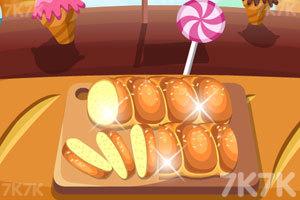 《烤鸡蛋蜂蜜小面包》截图1