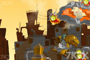 《霸王龙的毁灭打击》游戏画面2