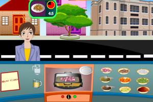 《焖鸡小吃摊》游戏画面1