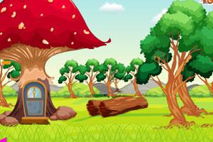 《小蘑菇的逃脱》游戏画面1