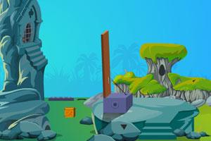 《逃出悬崖洞穴》游戏画面1