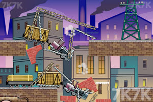 《爆破毁灭车辆3无敌版》游戏画面1