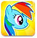 飞翔的彩虹小马