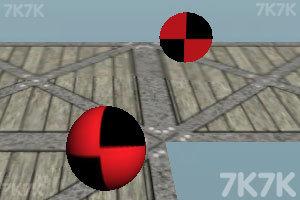 《滚动的彩色球》游戏画面3